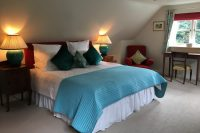 Larch Loft Cottage Double Bedroom